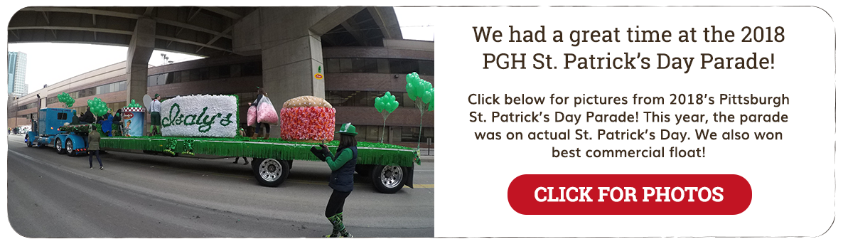Isaly's at the Pittsburgh St. Patrick's Day Parade!