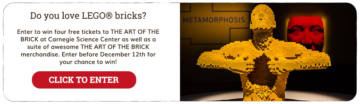 The Art of the Brick Promotion 2018